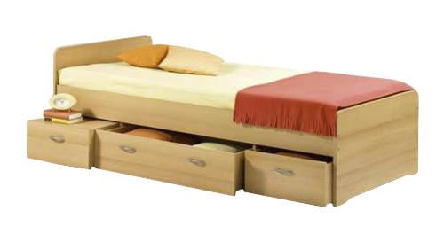 Praktická a univerzální postel do dětského nebo studentského pokoje