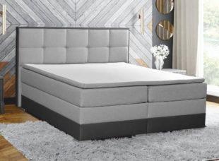 Boxspring postel s úložným prostorem