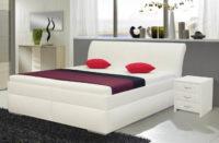 Dvoulůžková postel s úložným prostorem a zvýšeným lůžkem