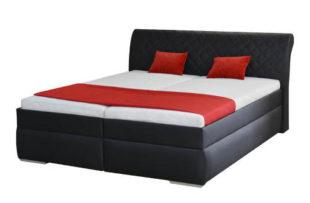Impozantní zvýšená manželská postel MINETA PLUS