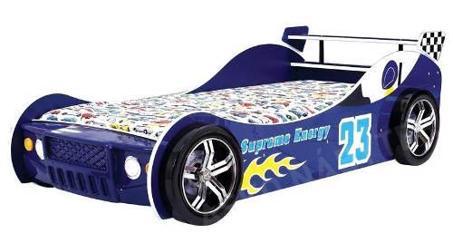 Klučičí postel modrá formule