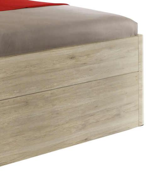 Manželská postel dub sanremo světlý
