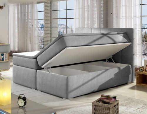 Manželská postel s velkými úložnými prostory