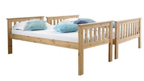 Patrová postel rozložitelná na klasická lůžka
