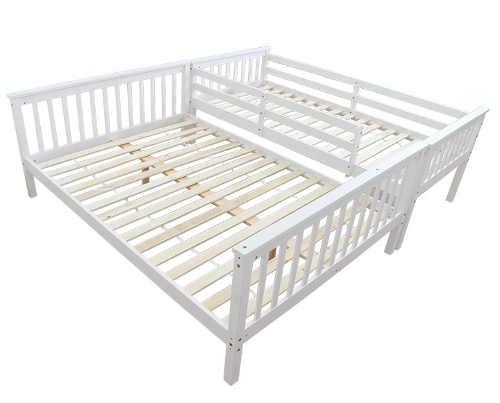 Patrová postel rozložitelná na tři lůžka