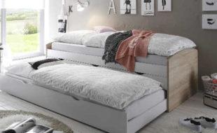 Vyvýšené jednolůžko s přídavným spaním