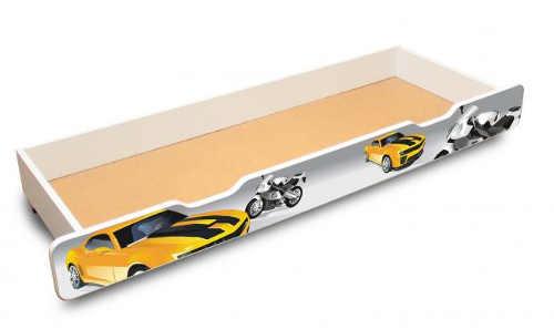 Úložný šuplík pod dětskou postel