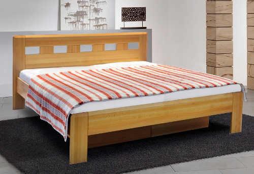 Dřevěná buková postel SOFRON 2 180x200 cm včetně roštu