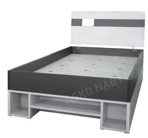 Moderní postel pro teenagera