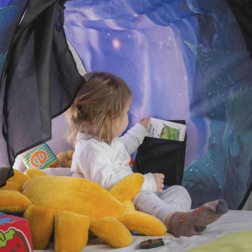 Obloukový stan k dětské posteli