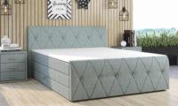 Měkká a pohodlná luxusní čalouněná postel CALLE