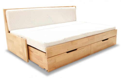 Rozkládací postel buk masiv