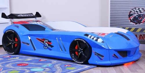 Dětská postel auto Speedy 90 x 190 cm