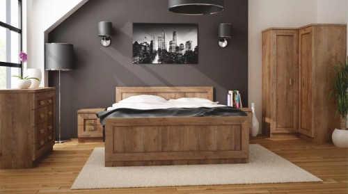 Rustikální ložnice dub lefkas