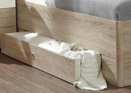 Výsuvné úložné šuplíky pod postel