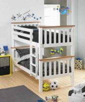 Dvoupatrová rozložitelná postel ROWAN
