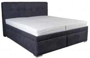 Čalouněná postel Trent 180x200 včetně polohovacího roštu a matrace
