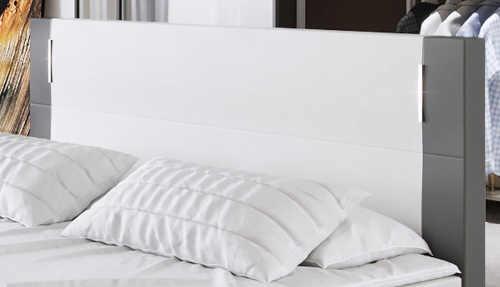 Čelo postele polstrované luxusní ekokůži