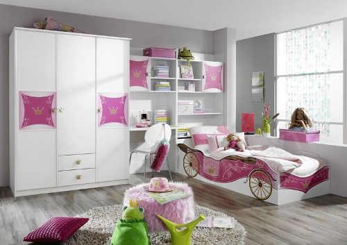 Sestava nábytku princeznovský dětský pokoj