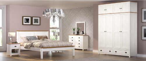 Bílá Provence ložnice