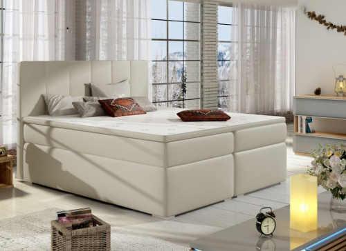 Čalouněná postel typu boxspring