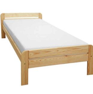Kvalitní jednolůžková postel z masivu nejen do malého prostoru