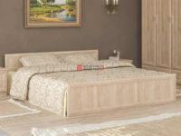 Manželská postel 160x200 cm v moderním designu dub sonoma