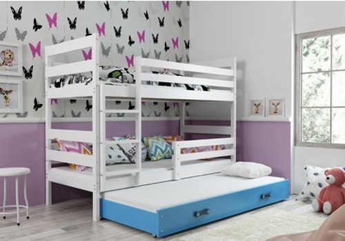Praktická a levná patrová dětská postel