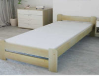 Praktická vyvýšená postel nejen pro snadné vstávání