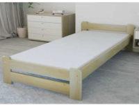 Vyvýšený typ postele 80x200 cm z masivní borovice