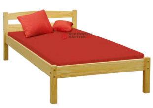 Levná jednolůžková postel ze smrkového dřeva