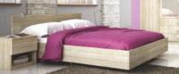 Manželská postel ROMA LUX 160x200 cm levitující vzhled