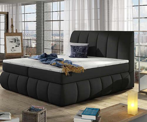 postel manželská včetně matrace i roštu