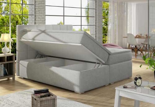 Kompletní postel pro dva včetně úložného prostoru