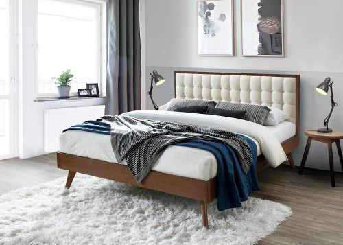 Krásná moderní a kvalitní manželská postel
