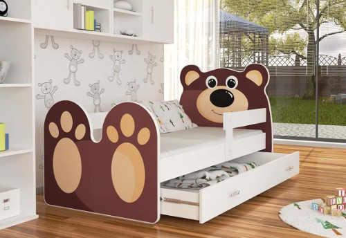 Krásná postel medvídek pro kluky i holky
