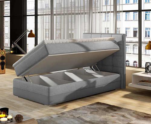 Moderní a praktická jednolůžková postel