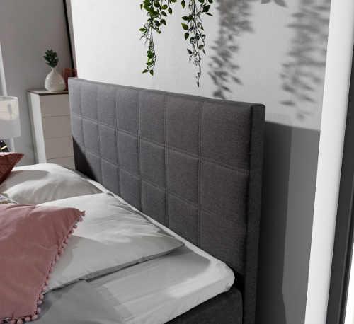Moderní a praktická postel typu boxspring