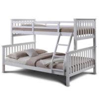 Patrová rozložitelná postel na 3 lůžka v moderním designu