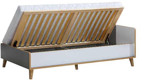 Postel pro jednoho z kvalitního lamina