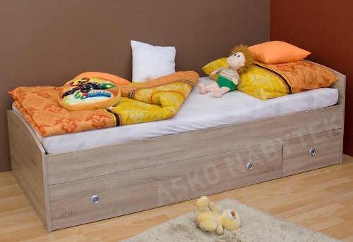 Jednoduchá vyvýšená dětská postel