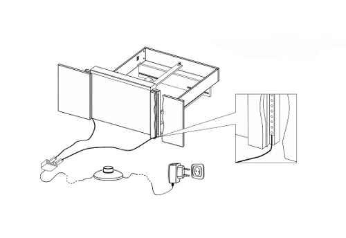 praktická a funkční postel pro dva s nočními stolky
