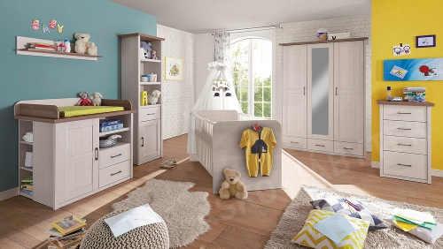 Velký elegantní dětský pokoj pro nejmenší
