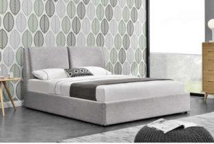 Moderní dvoulůžková postel s úložným prostorem v kvalitním provedení