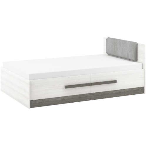 kvalitní postel s dostatečným úložným místem