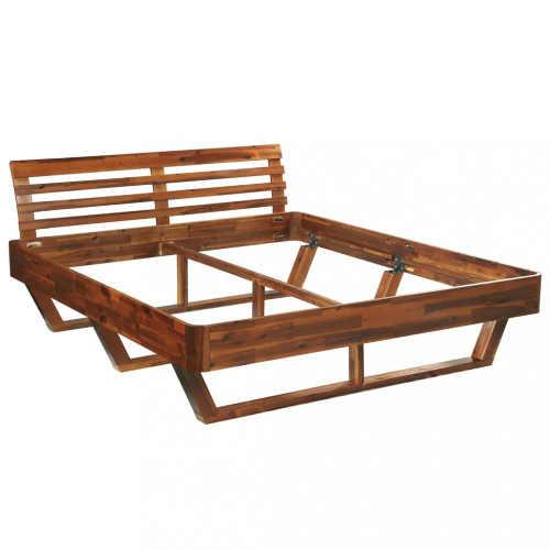 dvoulůžková postel ve dvou variantách rozměru