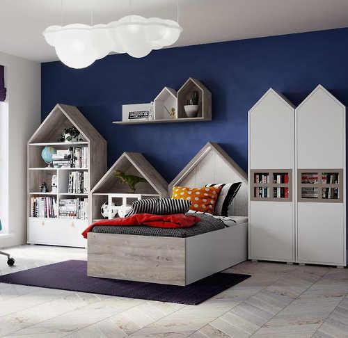 kvalitní dětská postel v zajímavém designu