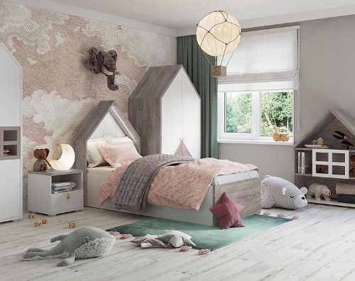 moderní dětská postel pro holky i kluky