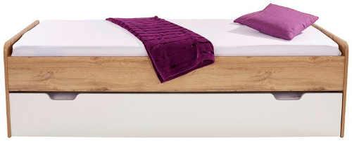 postel jednolůžko s výsuvnou spací plochou