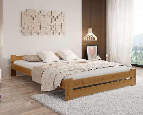 stylová postel v různém dekoru a velikosti